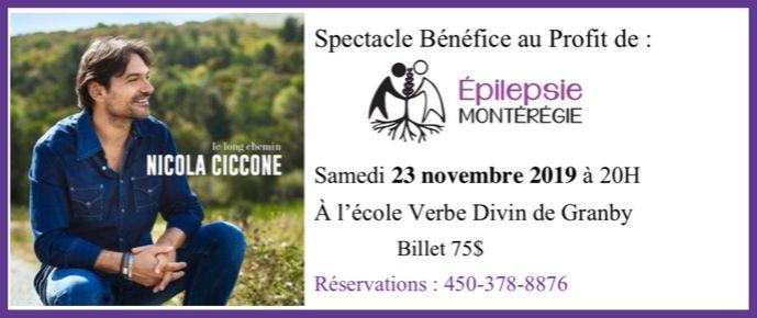 Spectacle Bénéfice Nicola Ciccone