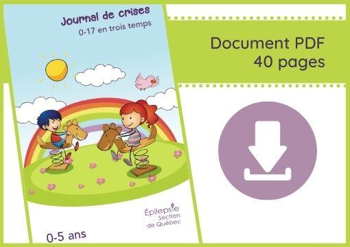 Journal de Crise - Épilepsie Montérégie