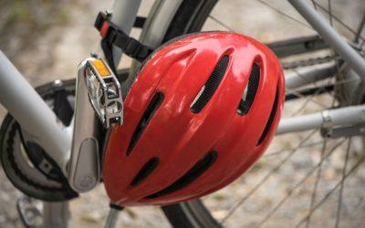 Lésions cérébrales et port du casque de vélo